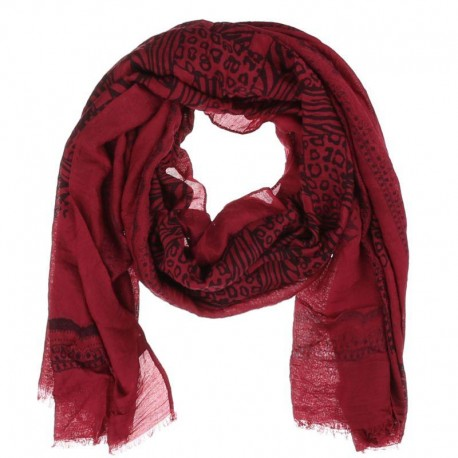 Caya Scarf Red