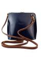 Abby Bag Blue/Brown