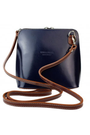 Abby Bag Blue/Brown