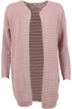 Kenya Long Cardigan Soft Rose