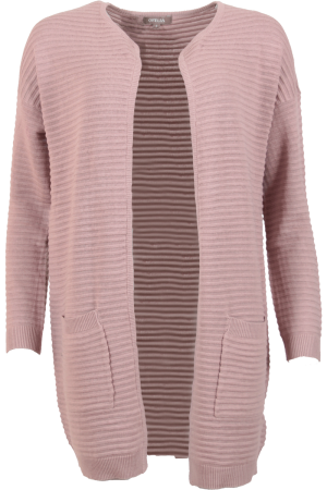 Kenya Long Cardigan Soft Rose