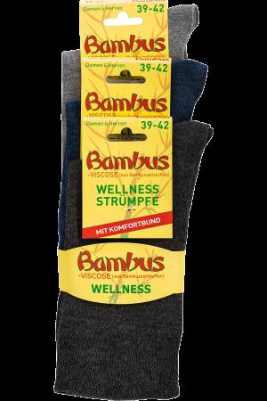 Sokker Bambus Wellness 1