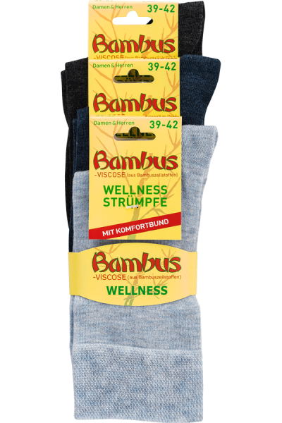 Sokker Bambus Wellness 2