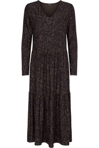 Liberté Alma loose dress Leo/Coffee