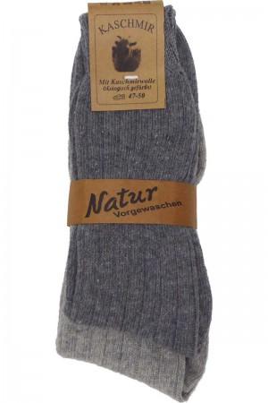 Sokker Kaschmir grå tynd