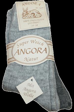 Sokker Angora Grå