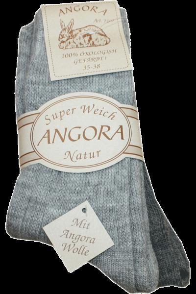 Angora sokker Grå
