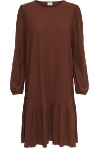 JDY Paris Dress Cerry Mahogany